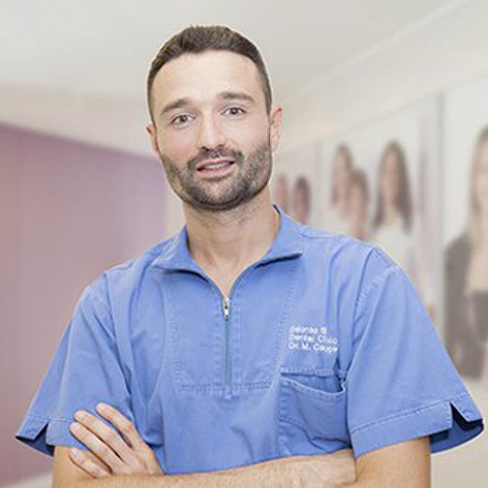 Dott. Marco Maria Cappello | Laureato in Odontoiatria | Equipe